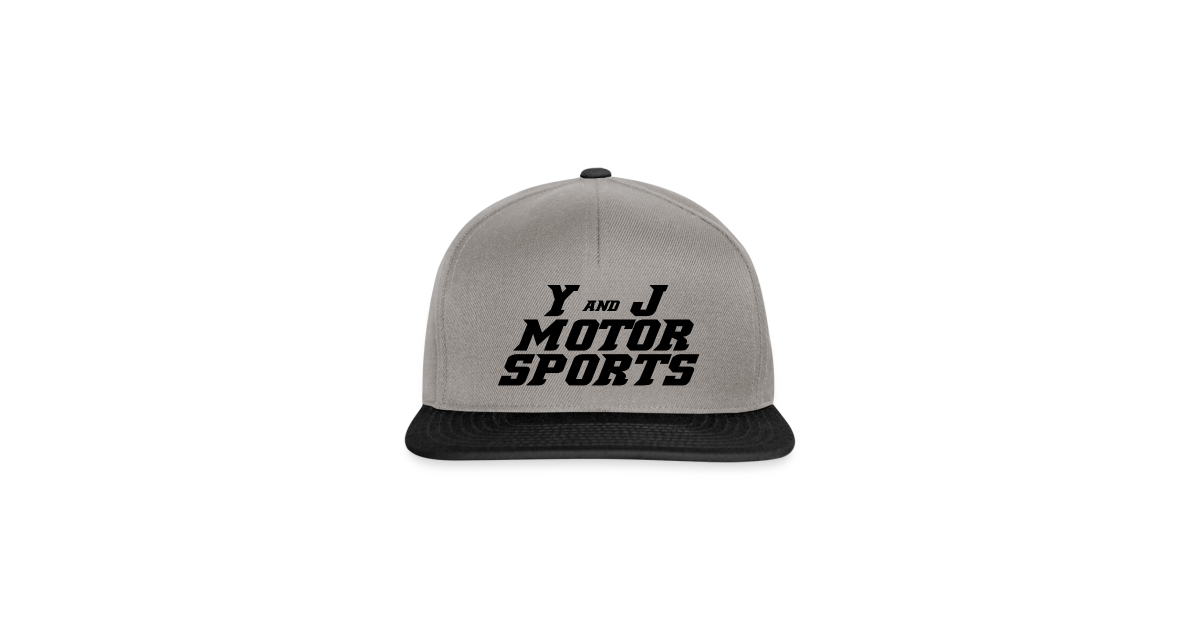 e94854aac17e78 Y and J Motorsports   YANDJ MOTORSPORTS DESIGN 2.0 Black - Snapback Cap
