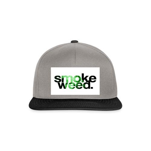smoke weed - Snapback Cap