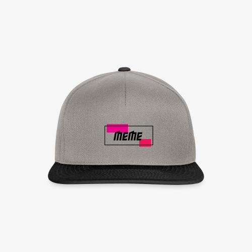 Simple meme - Snapback cap