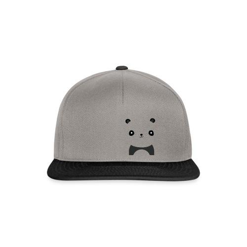 Panda Smile - Snapback Cap
