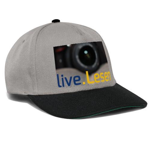 live.Lesen Foto - Snapback Cap