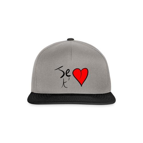 Je t'aime Saint Valentin - Casquette snapback