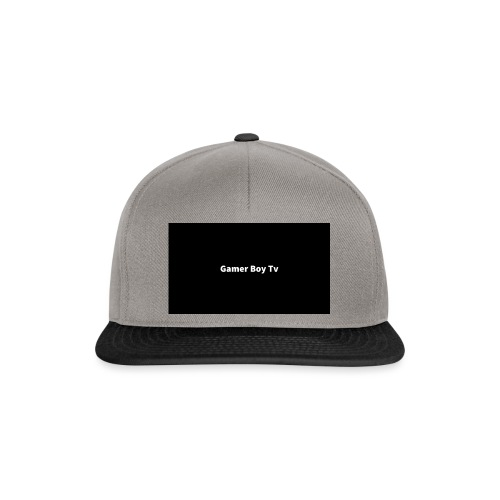Gamer Boy Tv - Snapback Cap