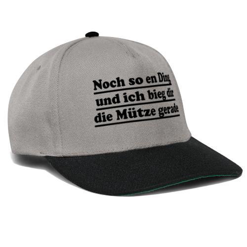 noch so en ding mütze gerade - Snapback Cap