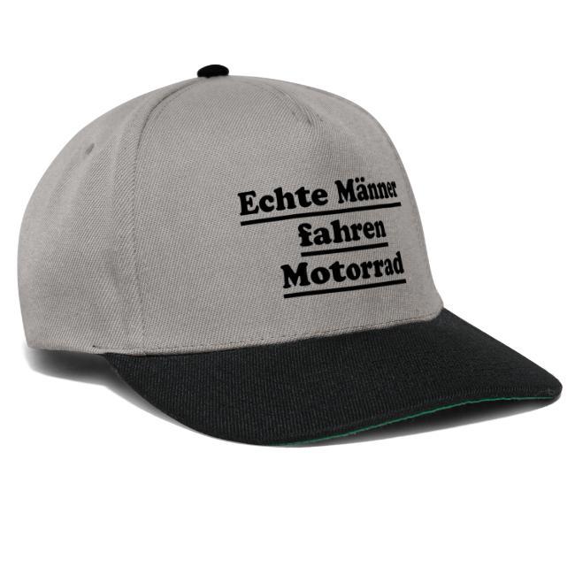 echte männer motorrad