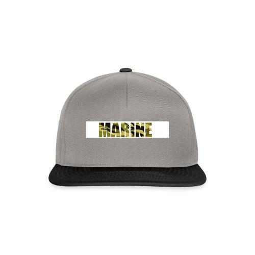 Marine Army - Snapback Cap