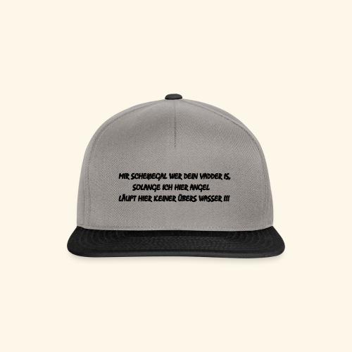 Angeln - Snapback Cap
