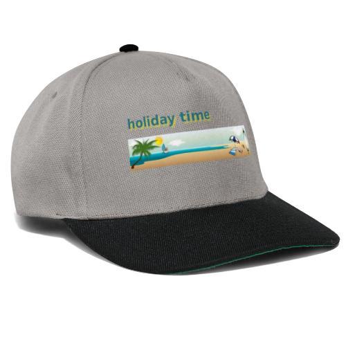 holiday time - Snapback Cap
