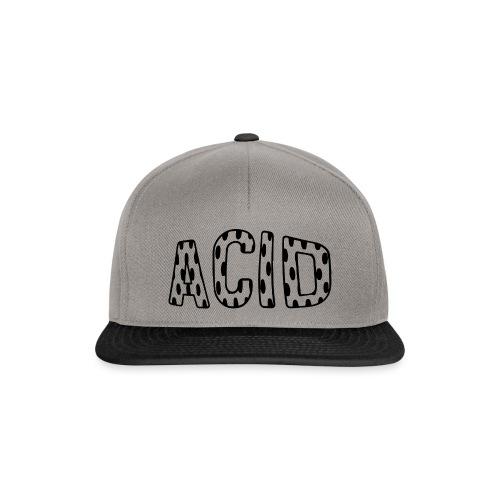 Acid Typo / 02 - Snapback Cap