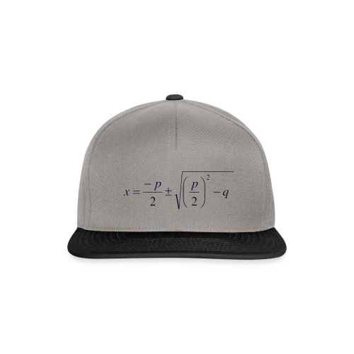 pq-Formel - Snapback Cap