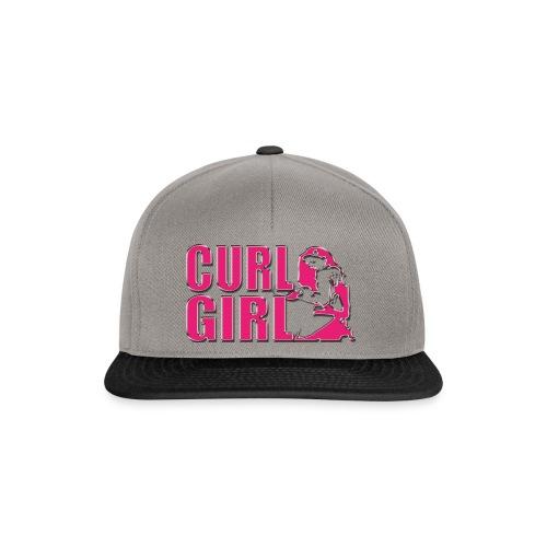 CURL GIRL chorme - Snapback Cap