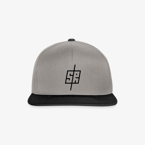 Black Logo (No Background) - Snapback Cap
