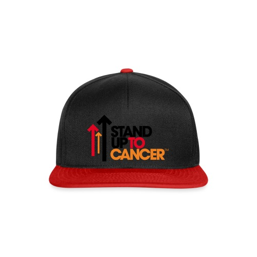 stand up to cancer logo - Snapback Cap