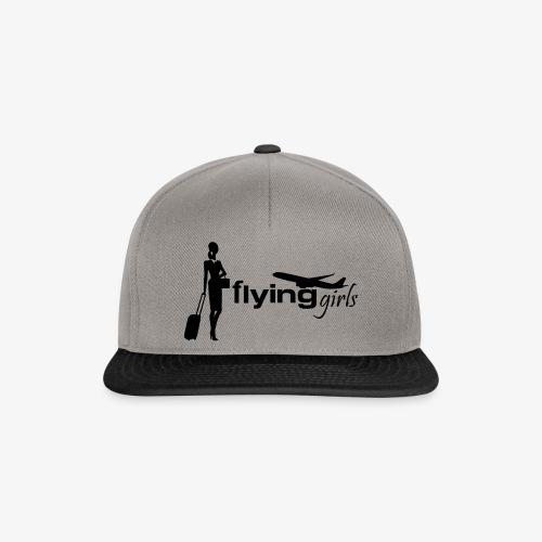 flying girls stewardess - Snapback Cap