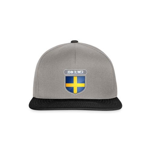 John Oliwer Sverige Sköld - Snapbackkeps