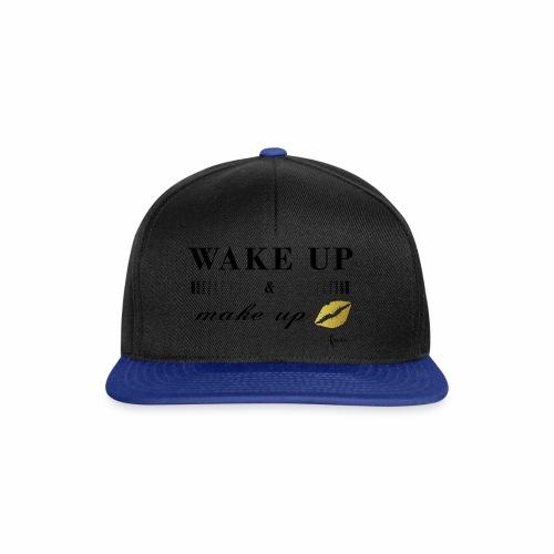 wake up and make up - Snapback Cap
