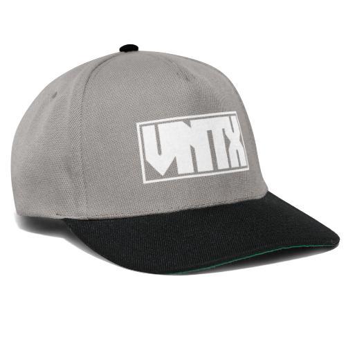 VNTX Logo Weiß - Snapback Cap