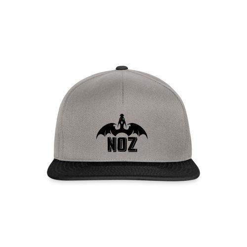 NOZlogoBlack nowhite - Snapback Cap
