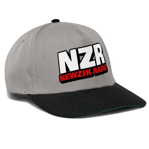 NewZikRadio Logo basic full - Casquette snapback