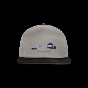 Radio PARALAX Facebook-Logo mit Webadresse - Snapback Cap