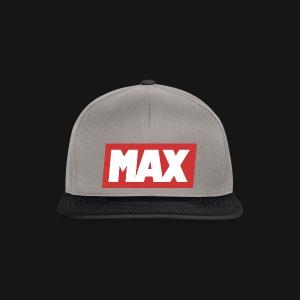 Max Red/white - Casquette snapback