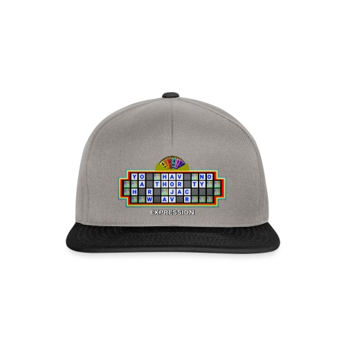 Jackie Weaver Wheel of Fortune - Snapback Cap