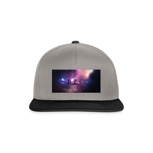 DZE_LOGO_SPACY_1-JPG - Snapback Cap