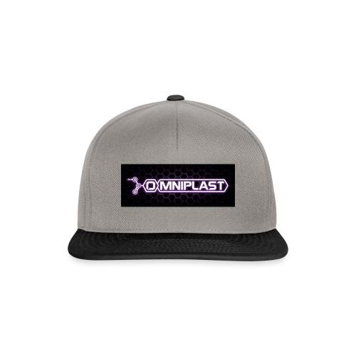 logo_OMNIPLAST_fullcolor_low - Snapback Cap