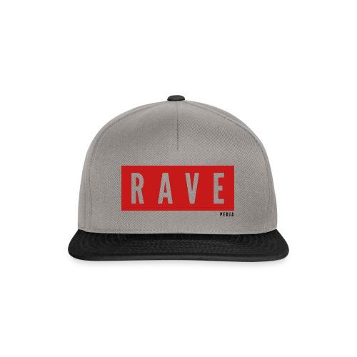 Rave Shirt für Festivals, Raver, Electro Festivals - Snapback Cap
