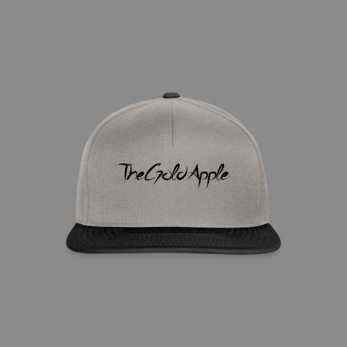 TheGoldApple (Svart) - Snapback-caps