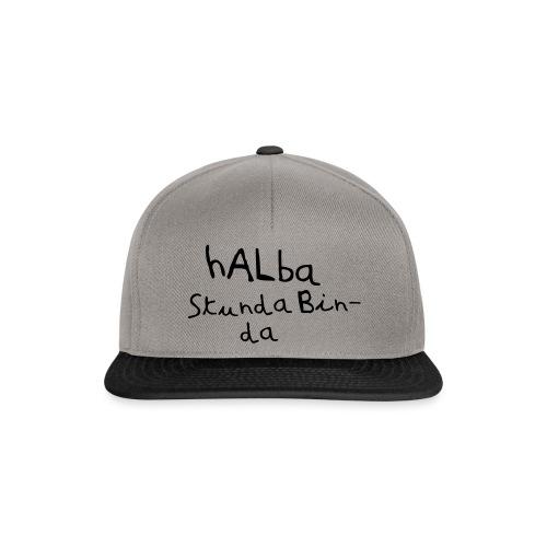 Halba Stunda Bin - da - Snapback Cap