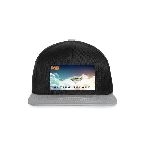 flying island - Snapback Cap