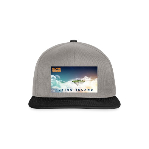 flying island - Snapback Cap