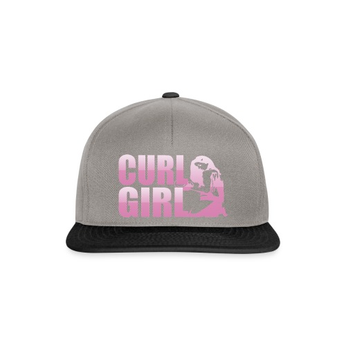 CURL GIRL rosa - Snapback Cap