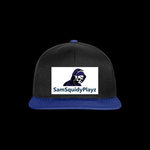 SamSquidyplayz skeleton - Snapback Cap