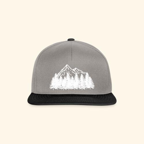 Bergliebe in weiß - Snapback Cap
