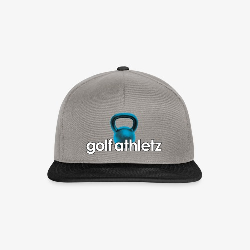 GOLF ATHLETZ - Kettlebell Trainings Sport Motiv - Snapback Cap