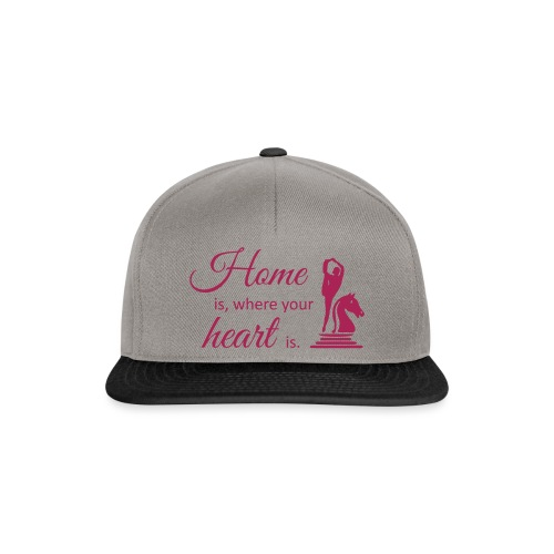 Homeiswhereyourheartis EDITION - Snapback Cap