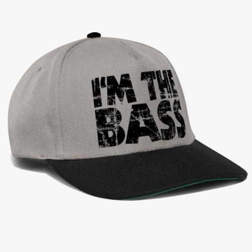I'm the Bass Vintage Black - Snapback Cap
