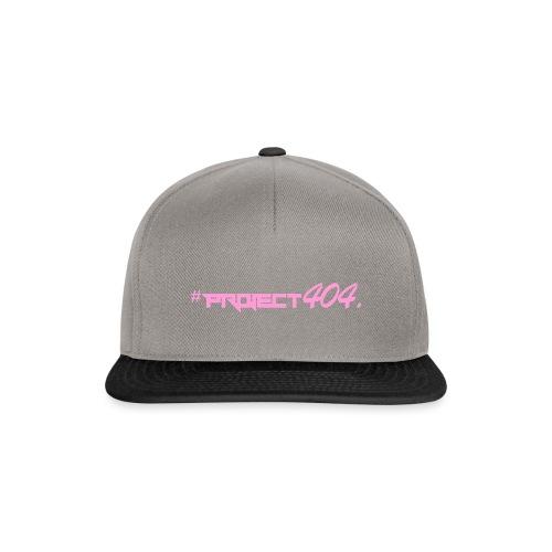 #project404 pink - Snapback Cap