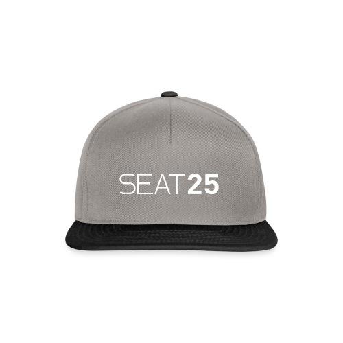 Seat25 Logo Light - Snapback Cap