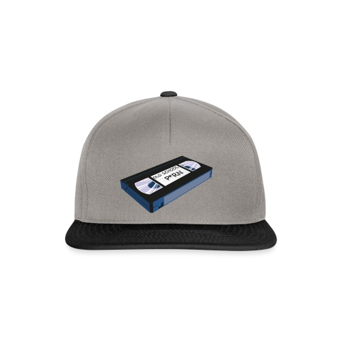 OLD SCHOOL P * RN vhs - Casquette snapback