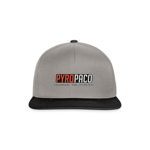 PyroPaco Logo - Snapback Cap