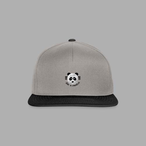 be a pandaa - Snapback Cap