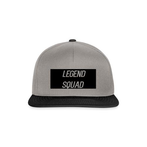 Legend Squad Logo - Snapback Cap