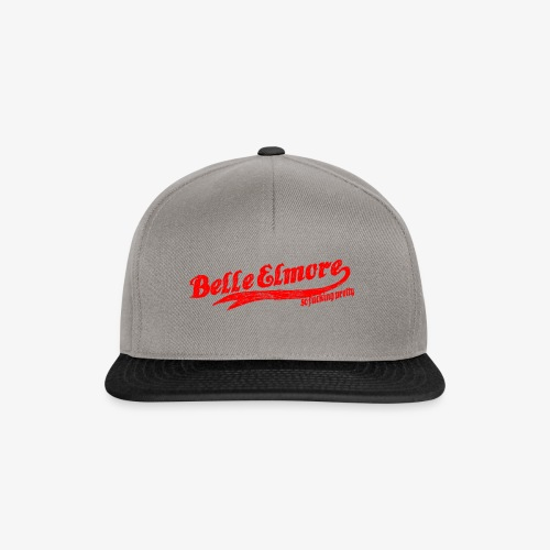 baseball red - Snapback Cap