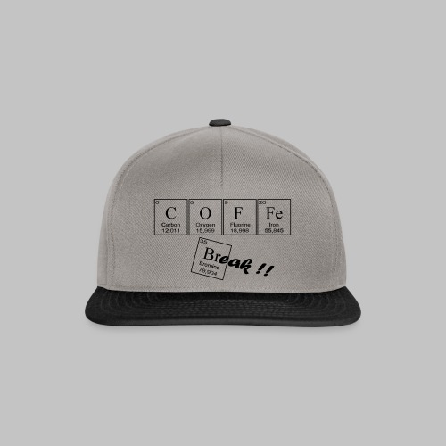 Coffee Break - Snapback Cap