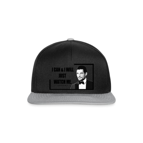 I can i will just watch me - Snapback Cap
