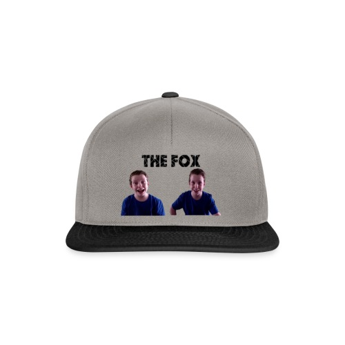 THE FOX - Deluxe Damesshirt - Snapback cap