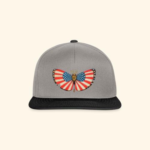 patriot moth - Snapback Cap